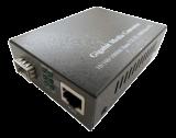 10/100/1000Base-T to 1000Base-FX SFP Media Converter