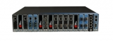 17 Slot Chassis-based Platform with two AC or DC PSUs